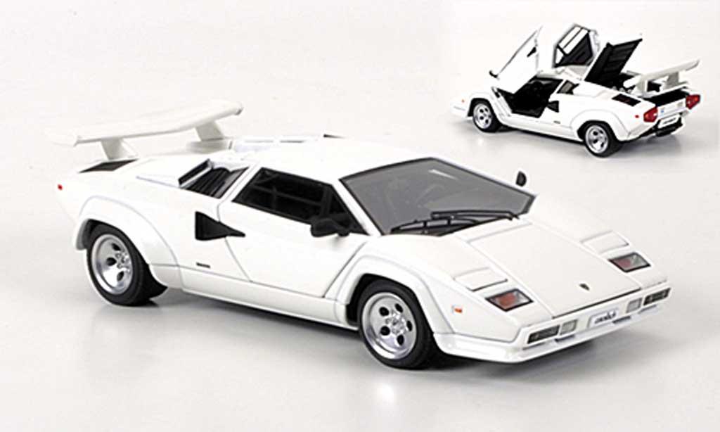 1 43 Autoart Signature Lamborghini Countach 5000 S White Akids